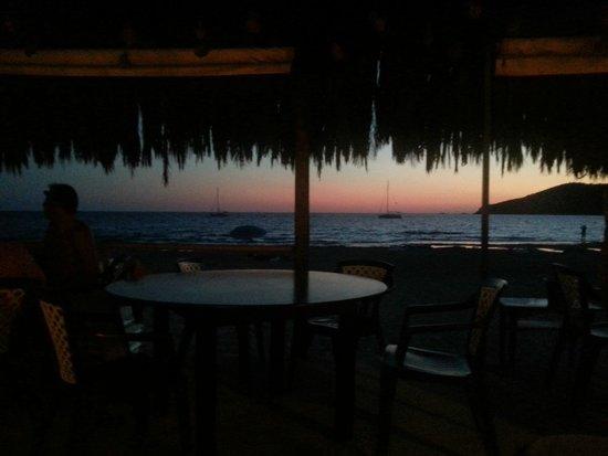Sa Trinxa Beach Bar: Afsluiting van de dag