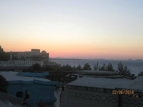 Kipriotis Aqualand : sunset