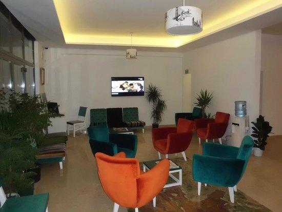 Yazar Hotel: Dining room