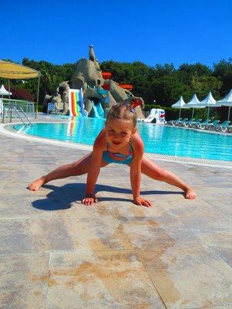 Turquoise Resort Hotel & Spa: Бассейны с горками
