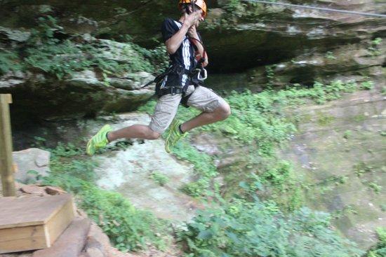Soaring Cliffs Zip Line Course: Leap of Faith!