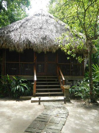 Turtle Inn: One of the cabanas