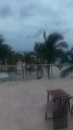 Secrets Aura Cozumel: this is one of our great views from our room 1026