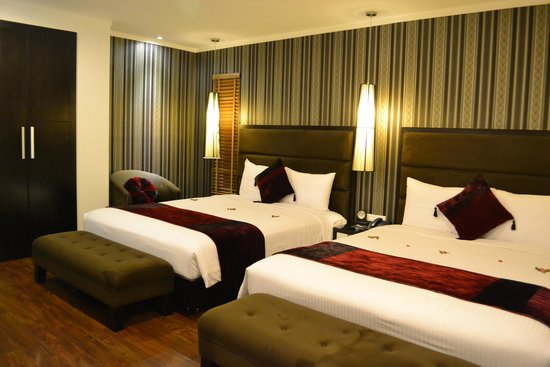 Hanoi Elegance Diamond Hotel : the room