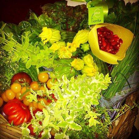 Enotavola Pino : ...dall'orto alla cucina...non si potrebbe voler di meglio!!!