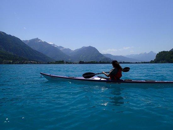 Hightide Kayak School - Kayaking Day Tours: Lake Brienz