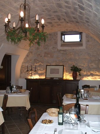 Nacalino Agriturismo: One of the dining rooms