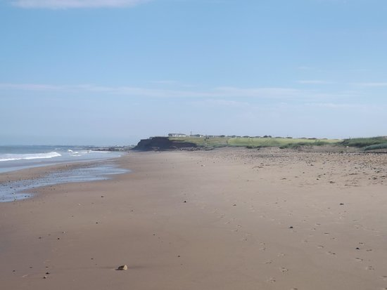 Barmston Beach Holiday Park - Park Resorts: The beach litterally a stones throw away