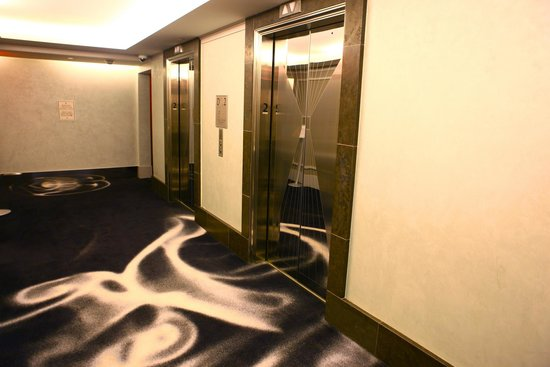 Loews Regency New York Hotel: whimsical carpet!