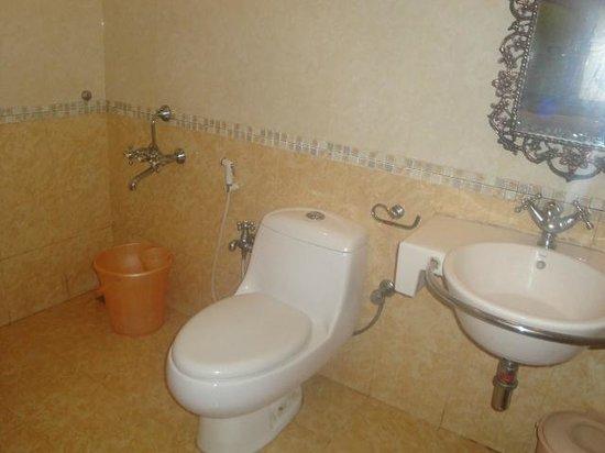 Hotel Sunpark Ooty: Toilet