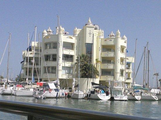 Benalmadena Puerto Marina : The marina view