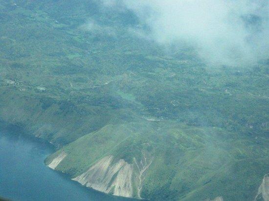 Aerial View  Danau  Toba  Picture of Lake Toba  North