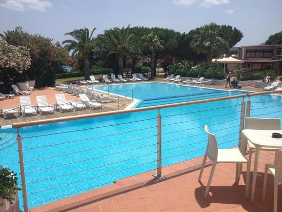 The Free Beach Club: La piscina