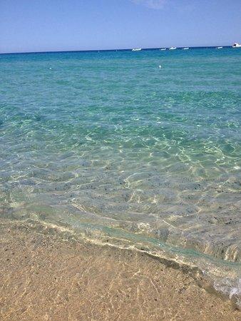 The Free Beach Club: Il mare a Giugno ... l'acqua è più fredda che mie mesi successivi