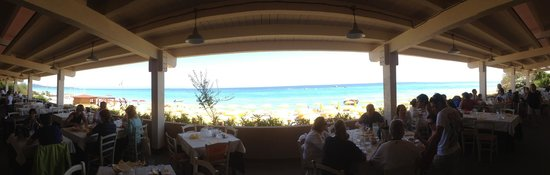 The Free Beach Club: Vista panoramica dal Ristorante MOBY DICK