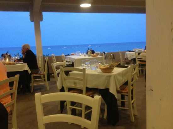 The Free Beach Club: Vista spettacolare dal Moby Dick