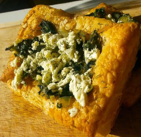 Green Goddess Cafe: Spinach Tart