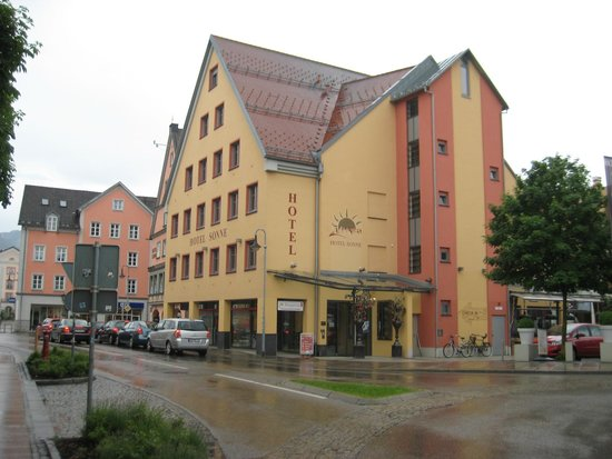 Hotel Sonne: exterior view