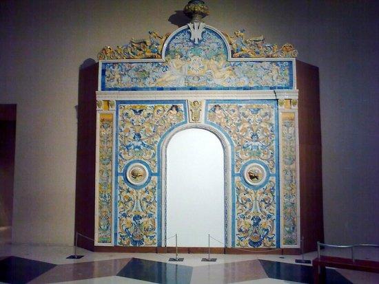 Museo de Cerámica Ruiz de Luna: Islamic links ?