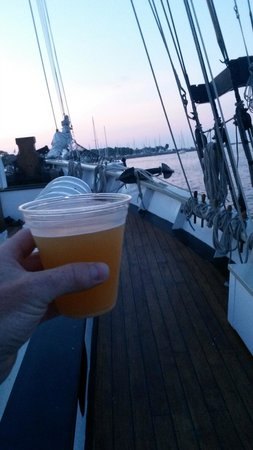 Tall Ship Manitou - Day Tours: Cheers