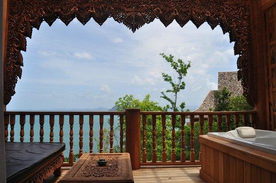 Santhiya Koh Yao Yai Resort & Spa: Balcony at Deluxe Room.