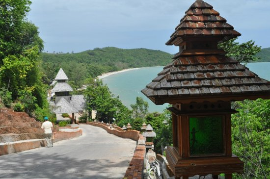 Santhiya Koh Yao Yai Resort & Spa: Vew to the beach.