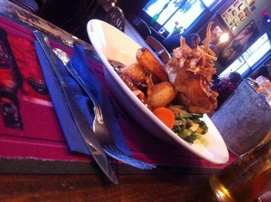 The Edinburgh Pub: roast!