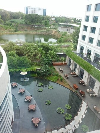 Park Hyatt Chennai: View from our room