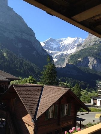 Hotel Gletschergarten: view from room 24