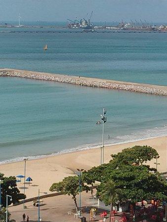 Hotel Brasil Tropical : vista do quarto.