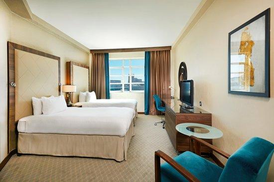 Hilton Cardiff: Twin Standard Room