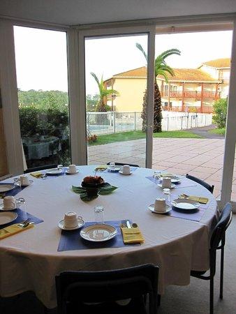 Résidence Mer & Golf Le Boucanier : Petit-déjeuner