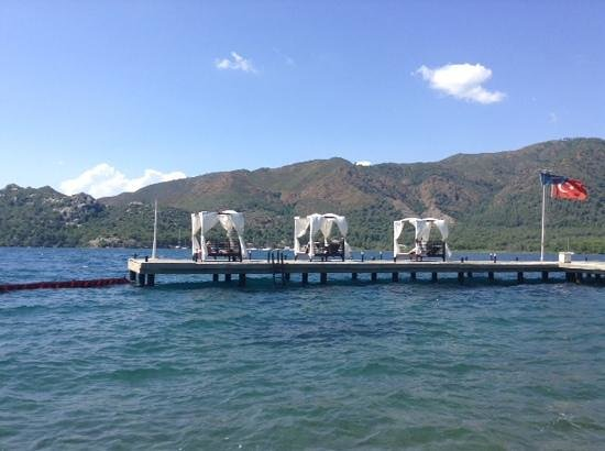 TUI Sensimar Marmaris Imperial Hotel : view from jetty