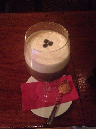 The Snug Restaurant: Baileys coffee cream ! Yum
