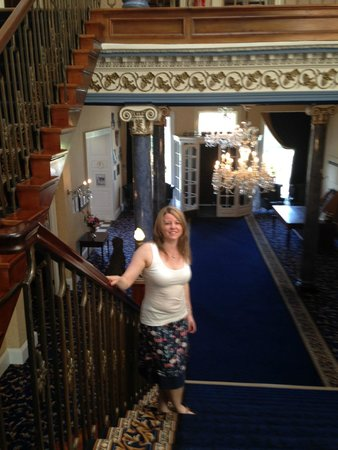 Shrigley Hall Hotel & Spa: On the main staircase