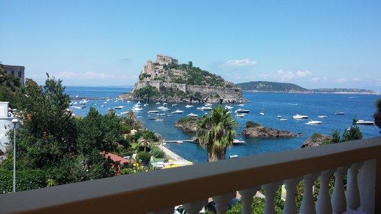 Hotel Giardino delle Ninfe e La Fenice: Colazione con vista...