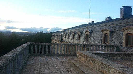 Parador de Gredos: tERRAZA