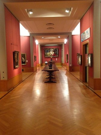 Barber Center : Barber Institute of Fine Arts: One of the galleries