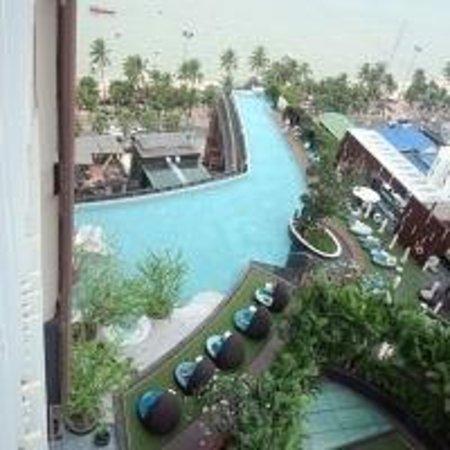 Hilton Pattaya: 部屋から