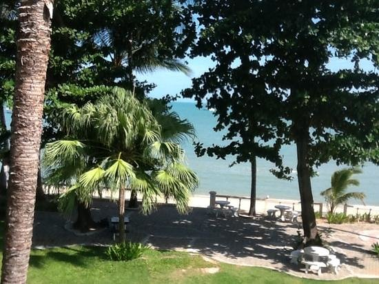 Samui Mermaid Resort: The view after we upgraded our room.