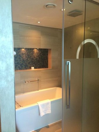 Fairmont Bab Al Bahr : Shower