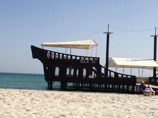 Sahara Beach Aquapark Resort : Beach bar