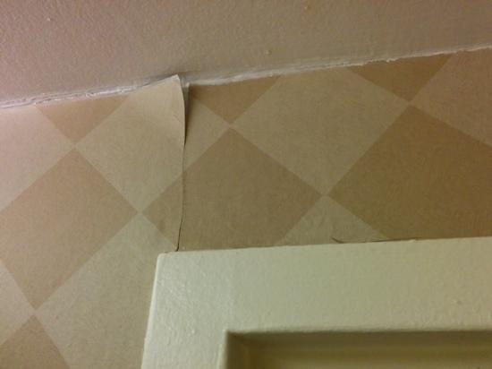 Hotel PUR Quebec : peeling wallpaper
