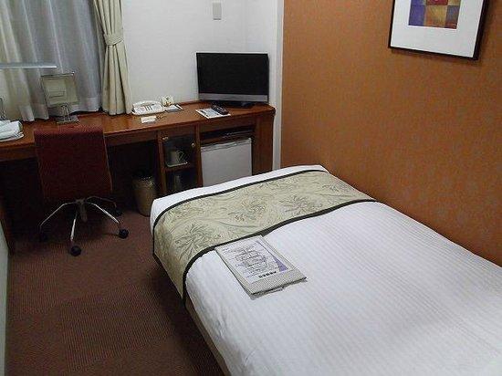 Hotel Hokke Club Kumamoto: 機能的な客室