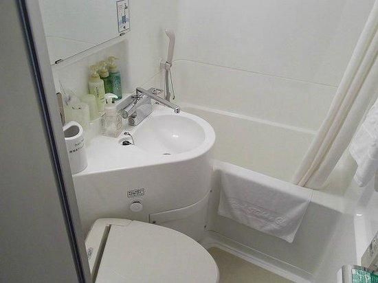 Hotel Hokke Club Kumamoto : バスルーム
