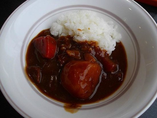 Hotel Hokke Club Kumamoto : 期間限定の牛タンカレー(朝食)
