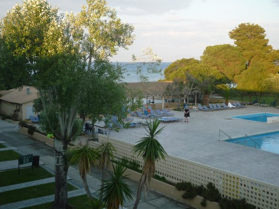 Messonghi Beach Resort : View from Twins block