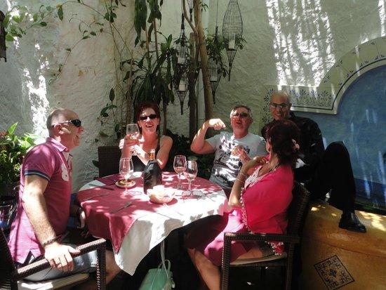Friendly fun 39 rochdi 39 the waiter picture of el patio - Marbella family fun ...