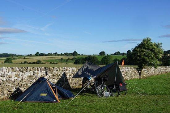 Shallow Grange Farm Campsite : Camping field