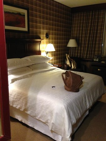 Sheraton JFK Airport Hotel: King bed on club level
